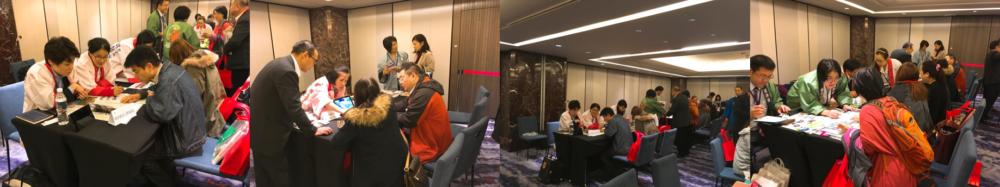 【台湾における日本観光振興協会様主催の商談会にて、日本企業様の参加をサポート】